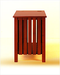 Solid Red Cedar Laundry Basket. Click to view product details.