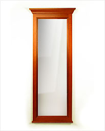 Colonial Wall Mounted Long Bathroom Mirror. Click to view product details.