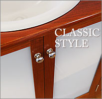 Click to view Colonial Living Classic style of timber bathroom vanities.