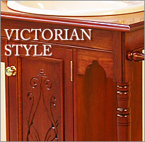 Click to view Colonial Living Victorian style Washstands.