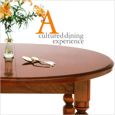 The Circular Solid Cedar Extension Dining Table is made from selected solid red cedar, unabashedly showing the fine grain on its smooth surfaces. For convenience and ease of usability, it is fitted with the traditional solid steel winder mechanism and handle, making an easy conversion to meet your practical needs. Click for more information.